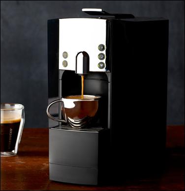 Free Starbucks coffee machine!