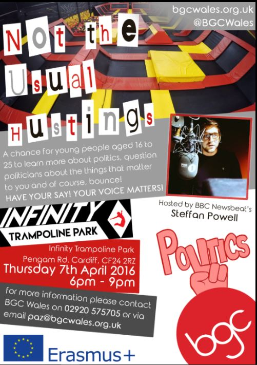 Hustings Event - Infinity Trampoline Park
