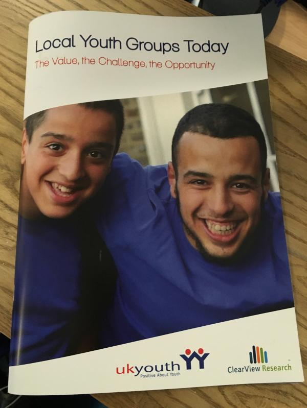 Local Youth Groups Today Report Launch