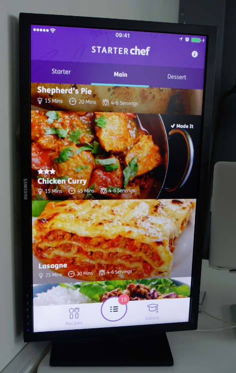 STARTER CHEF App!!