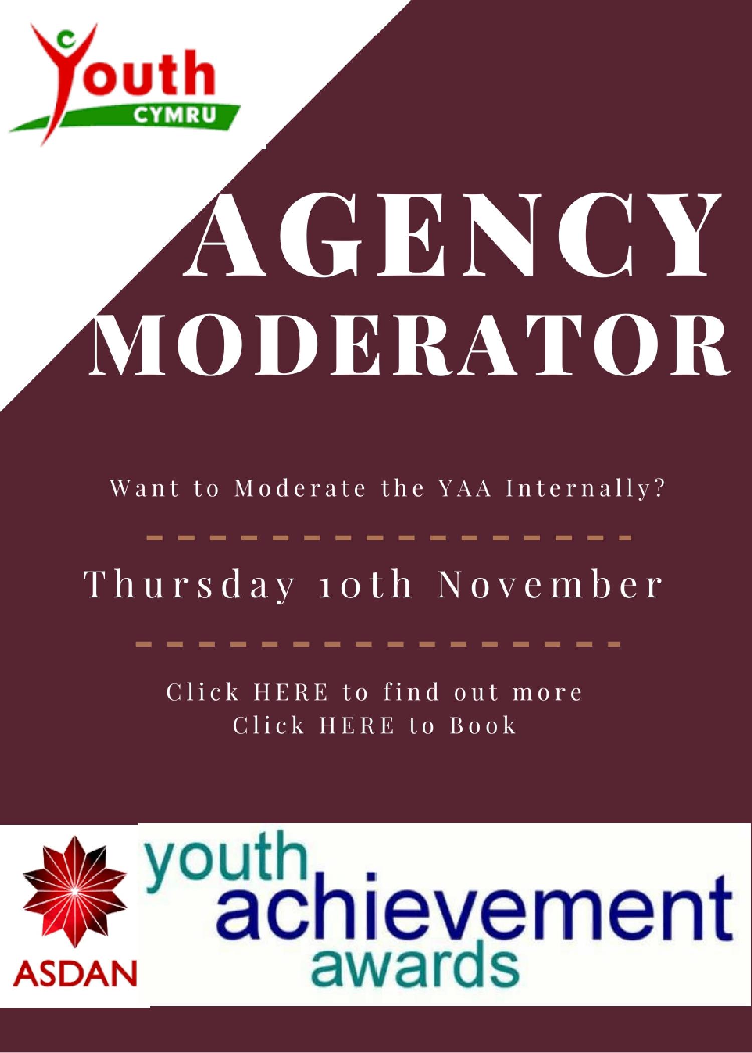 YAA Agency Moderator Course