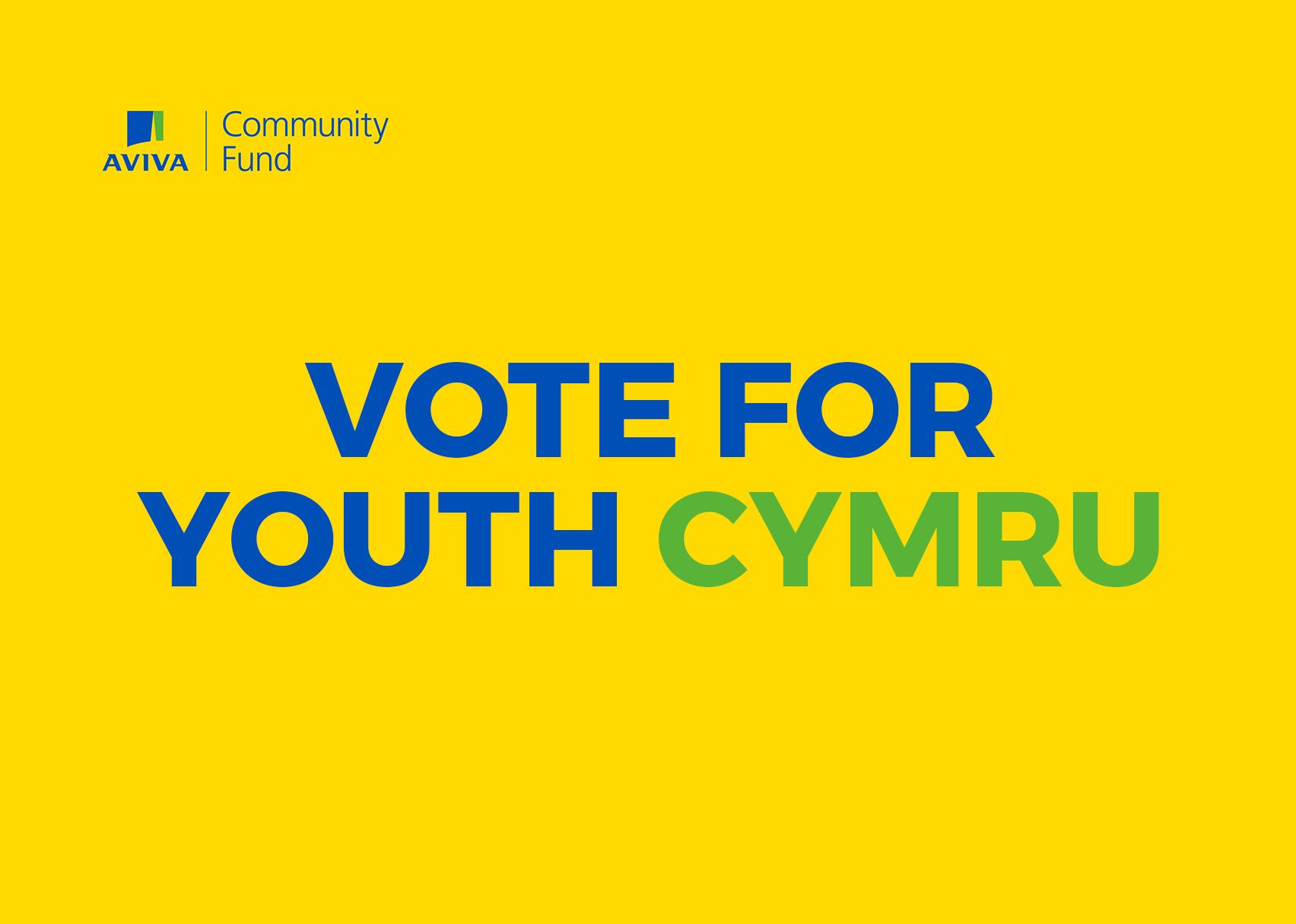 Vote for Youth Cymru | Aviva Community Fund