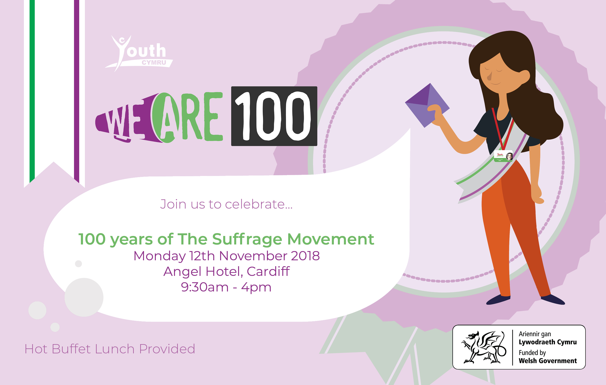 Celebrating 100 years of The Suffrage Movement