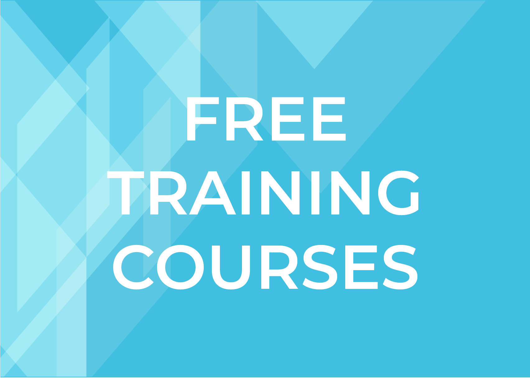Free Training Courses